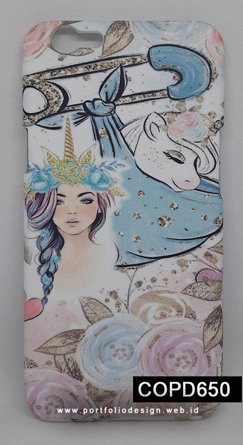 Casing-Handphone-Princess-Baby-Unicorn-COPD650