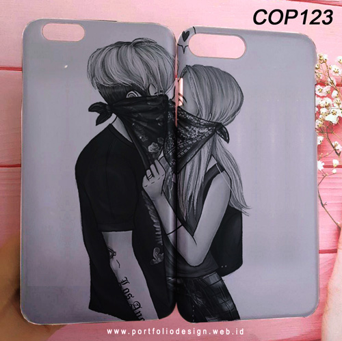 Desain Casing Couple Anime COP123