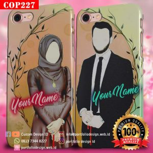 Casing Couple Pasangan Muslim COP227