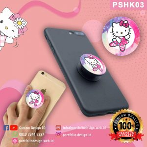 Pop socket hp karakter Hello Kitty PSHK03