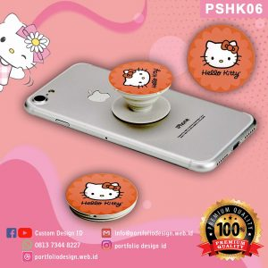 Pop socket hp karakter Hello Kitty PSHK06