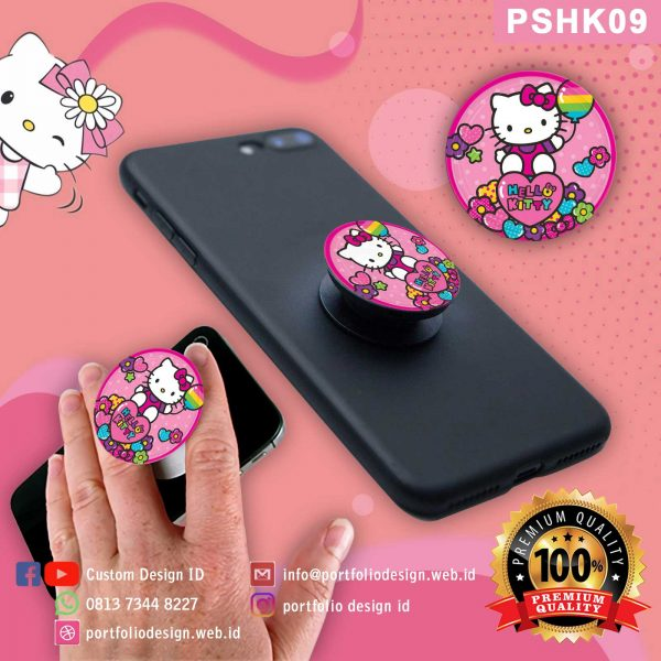 Popsocket asli hp karakter Hello Kitty PSHK09