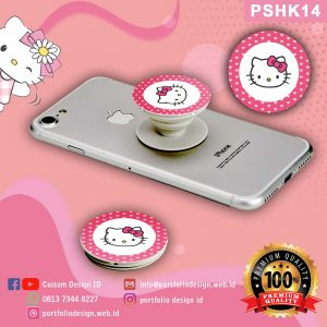 Pop socket hp karakter Hello Kitty PSHK14