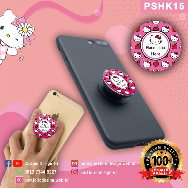 Pop socket hp karakter Hello Kitty PSHK15
