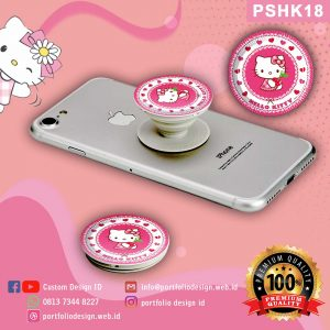 Pop socket hp karakter Hello Kitty PSHK18
