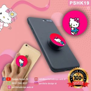 Pop socket hp karakter Hello Kitty PSHK19
