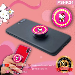 Pop socket hp karakter Hello Kitty PSHK24