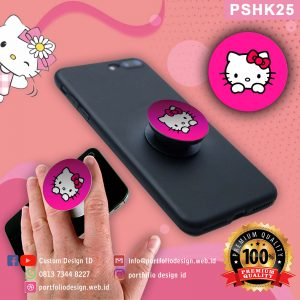 Pop socket hp karakter Hello Kitty PSHK25