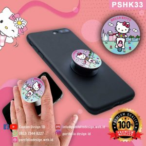 Jual Popsocket hp karakter Hello Kitty PSHK33