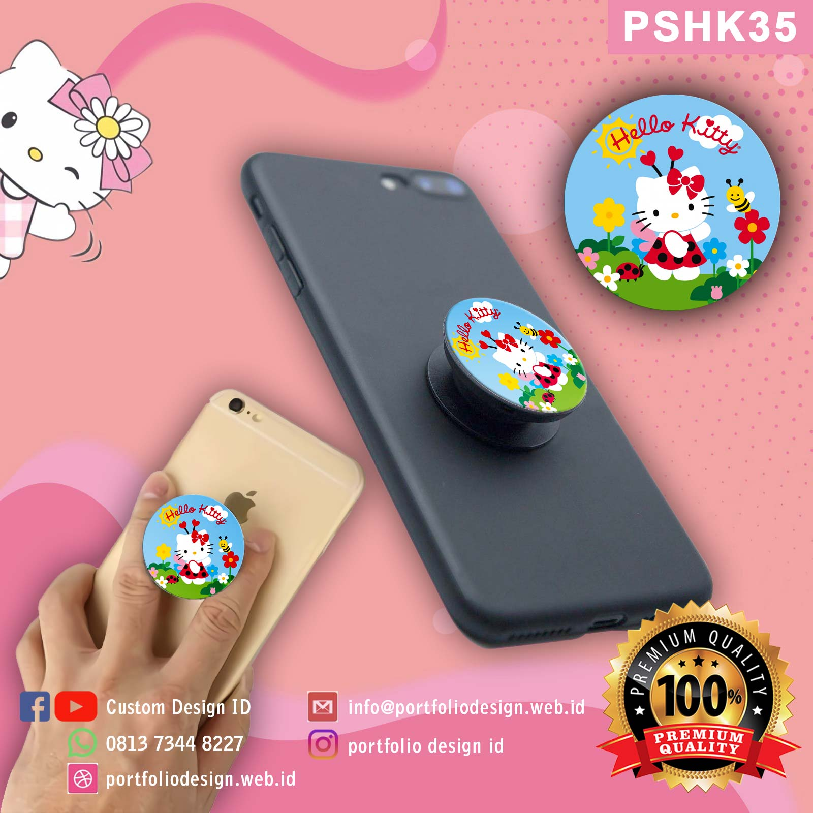 Popsocket Hello Kitty PSHK31