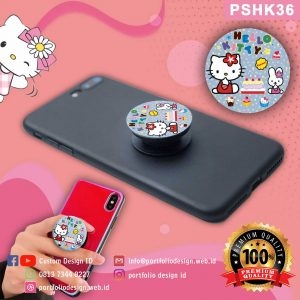 Grosir murah popsocket hp karakter Hello Kitty PSHK36