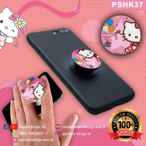 Grosir murah popsocket hp karakter Hello Kitty PSHK37