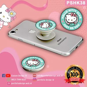 aksesoris hp popsocket hp karakter Hello Kitty PSHK38