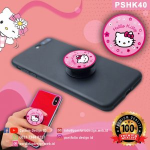 Jual murah popsocket hp karakter Hello Kitty PSHK40