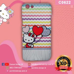 Casing hp karakter hello kitty C0622
