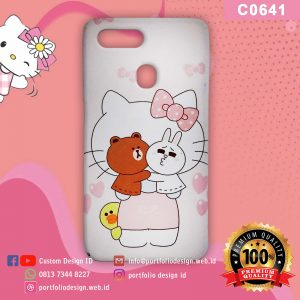 Casing hp karakter hello kitty C0641