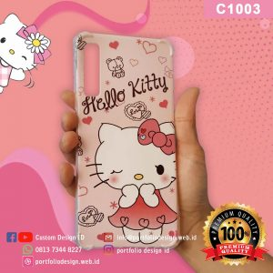 Casing hp hello kitty C1003