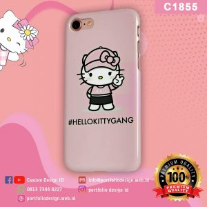 Casing hp karakter hello kitty C1855