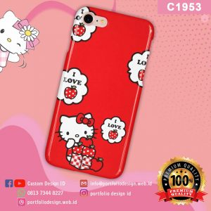 Gambar casing hello kitty C1953