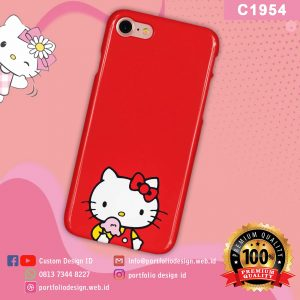 Casing hp karakter hello kitty C1954