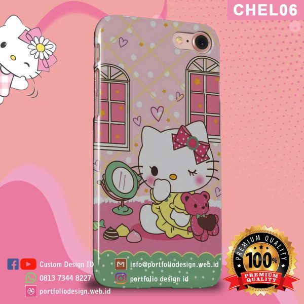 Casing hp karakter hello kitty CHEL06