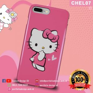 Casing hp karakter hello kitty CHEL07