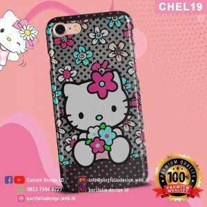 Casing hp karakter hello kitty CHEL19