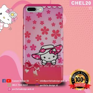 Casing hp karakter hello kitty CHEL20