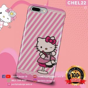Casing hp karakter hello kitty CHEL22