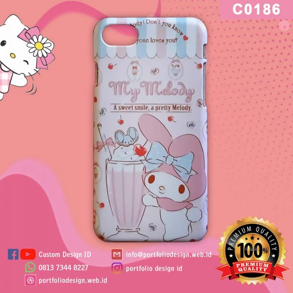 Casing hp karakter my melody C0186
