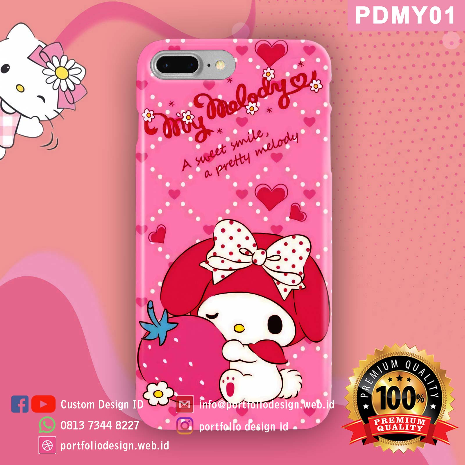 Casing hp my melody PDMY01