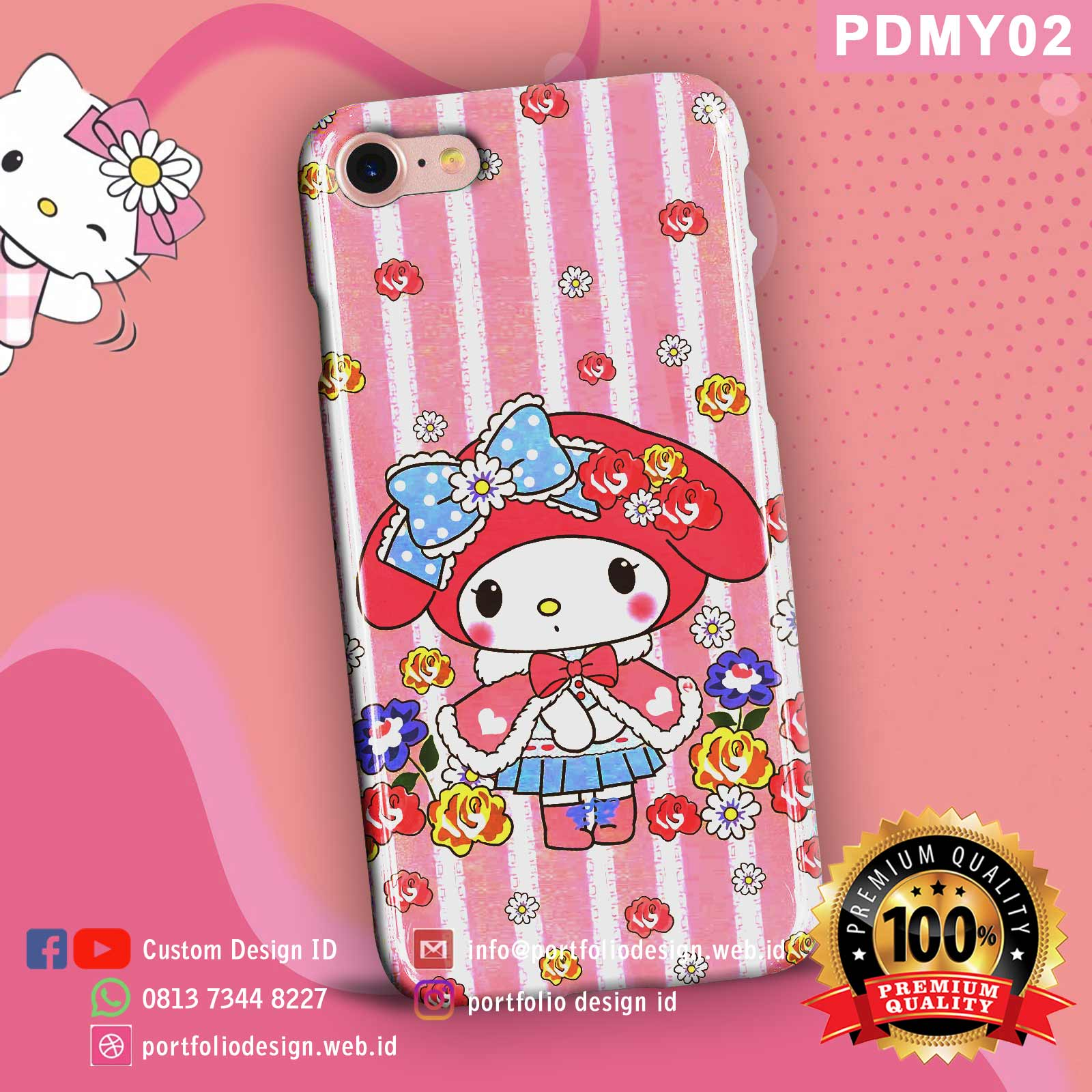 Casing hp my melody PDMY02