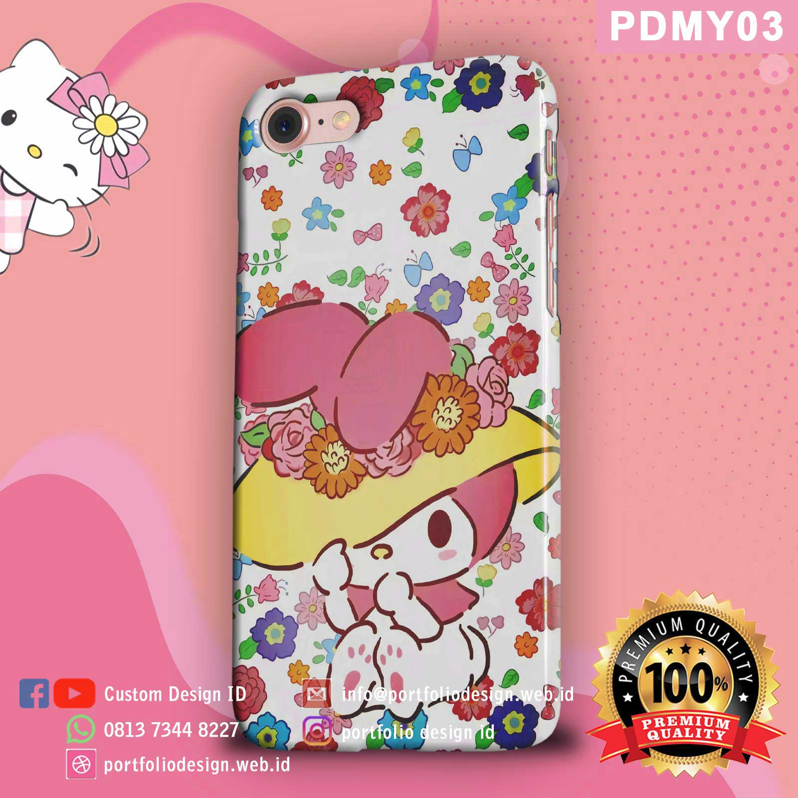 Casing hp my melody PDMY03
