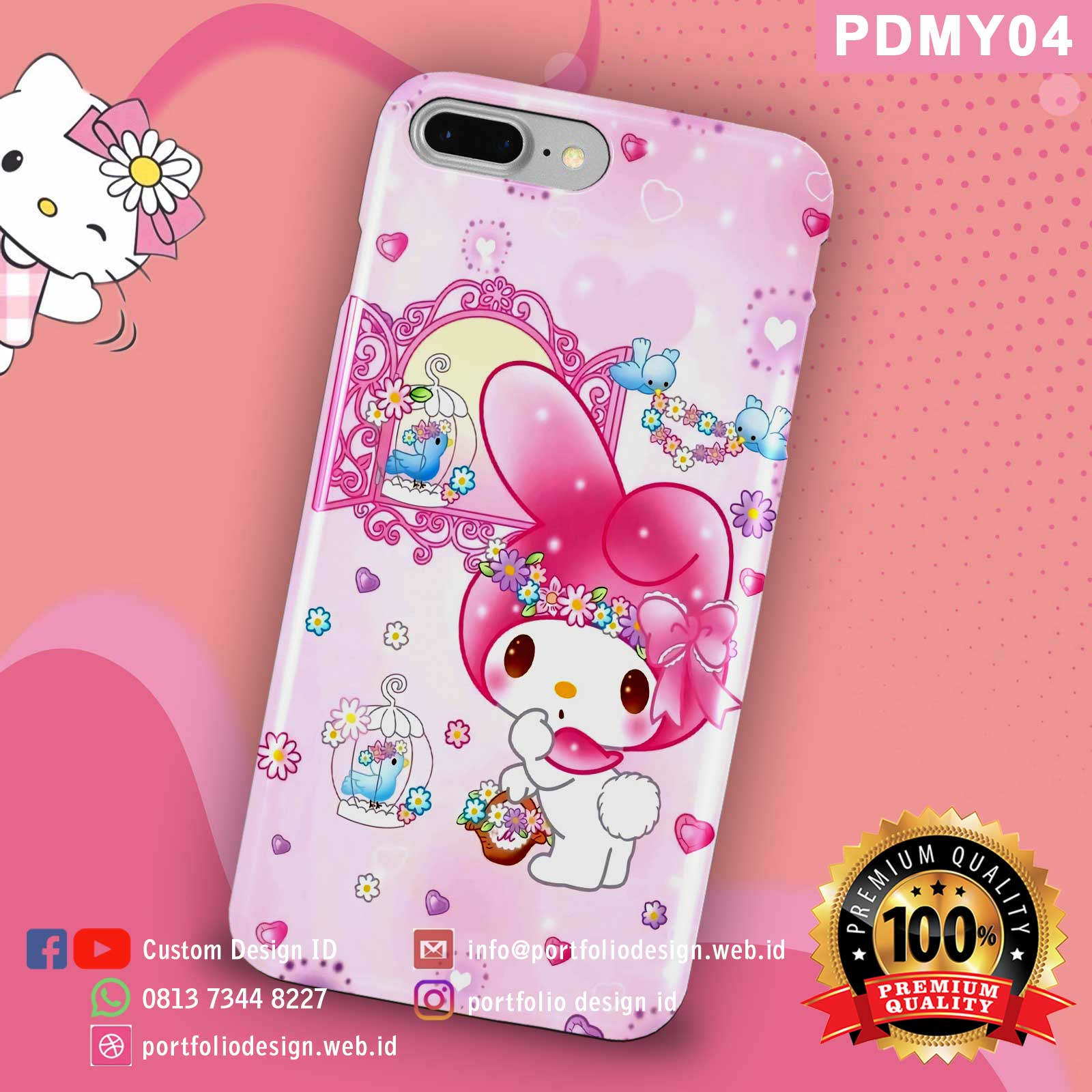 Casing hp my melody PDMY04