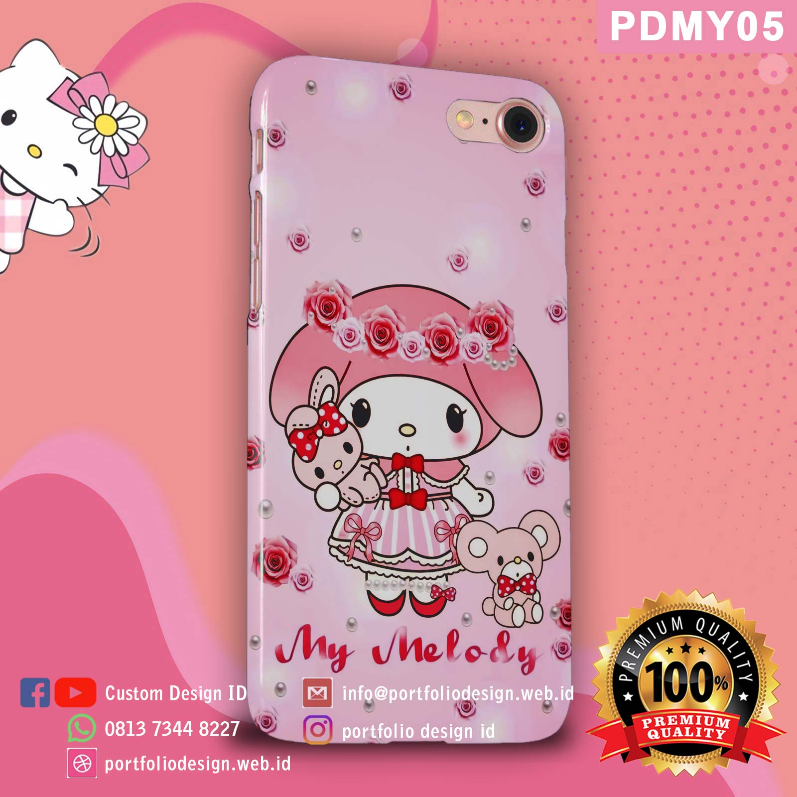 Casing hp my melody PDMY05
